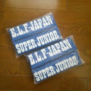 スーパージュニア(SUPER JUNIOR)のSuperjunior 折りたたみクッション(ミュージシャン)