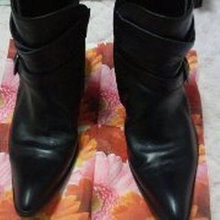 ジャックローズ(JACKROSE)のJACKROSE×SGZ 3連ベルト ポインテッドトゥ サイズ43(ブーツ)
