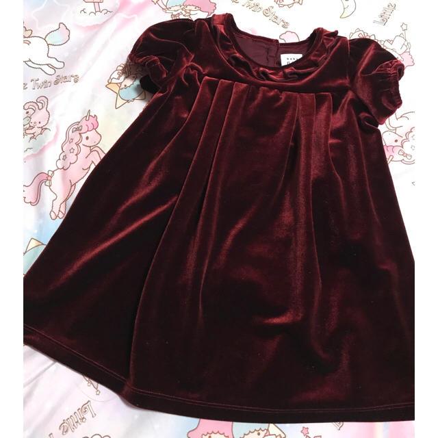 41e1e3cfba2535 babyGAP - 新品 Baby GAP♡ベロア ワンピースの通販 by ひなママ's shop ...