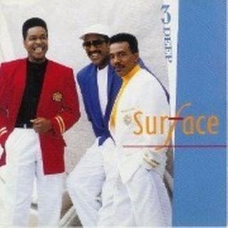 日本盤解説 SURFACE/3 DEEP 帯なし r&b(R&B/ソウル)