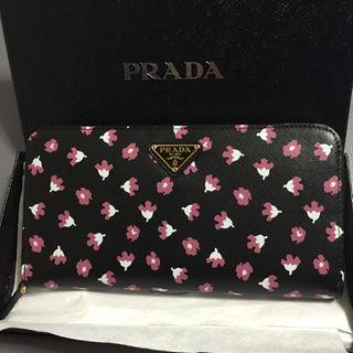 プラダ(PRADA)の定価86840円 新品 プラダ 長財布 サフィアーノ ピンク(財布)