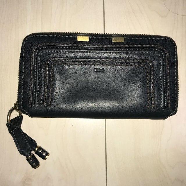 buy popular 2968c e9782 クロエ 財布 黒 | フリマアプリ ラクマ