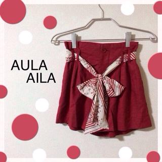 アウラアイラ(AULA AILA)のAULA AILA☆ショートパンツ(ショートパンツ)