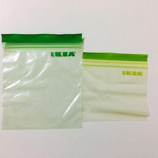 イケア(IKEA)の【廃番品】IKEA ジップロック 緑・黄緑 60枚(その他)