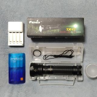ザノースフェイス(THE NORTH FACE)のFenix TK41 800ルーメン LEDライト eneloop 充電器セット(ライト/ランタン)