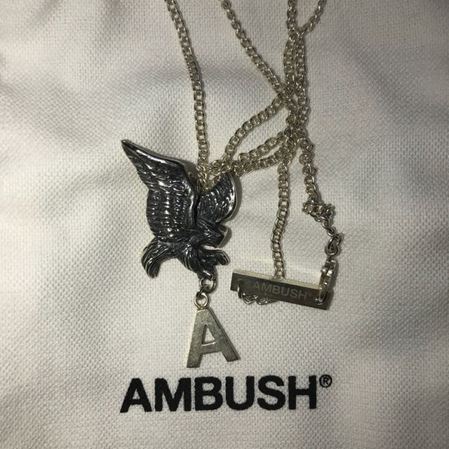 Chrome hearts ambush silver jewelry necklace by s ambush silver jewelry necklace mozeypictures Image collections