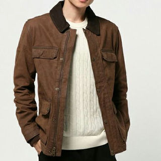 ティンバーランド(Timberland)のティンバーランド テノン レザー フィールドジャケット 新品未使用Lサイズ(ミリタリージャケット)