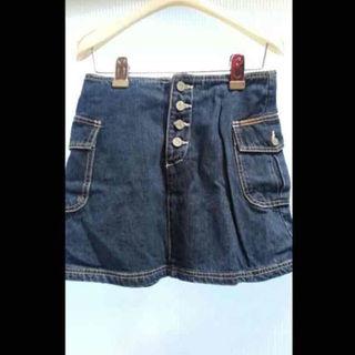 カルバンクライン(Calvin Klein)のCKデニムスカート(ミニスカート)