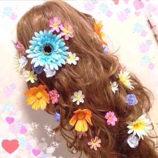 専用☆ラプンツェルセット☆お花のヘアピン(ヘアピン)