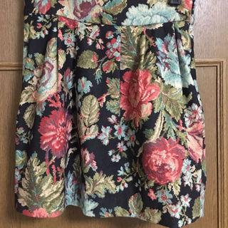 マーキュリーデュオ(MERCURYDUO)のマーキュリーデュオ☆ゴブラン花柄スカート(ミニスカート)