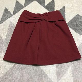 ストラ(Stola.)の季節はずれなので大特価☆stola .台形スカート(ひざ丈スカート)