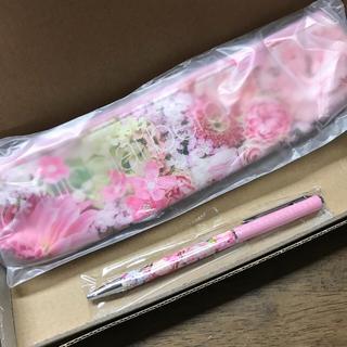 カドカワショテン(角川書店)の新品♡美人百花nicolai bergmannペンケース&ボールペン(ペンケース/筆箱)