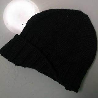 スリーフォータイム(ThreeFourTime)のつば折り返しニット帽(ニット帽/ビーニー)