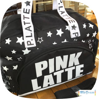 ピンクラテ(PINK-latte)の未使用 Pink Latte ボストンバッグ 合宿 修学旅行 キャンプ 3-5泊(ボストンバッグ)