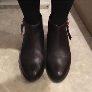 オデットエオディール(Odette e Odile)のオデットエオディール ショートブーツ ブラウン 23.5センチ(ブーツ)