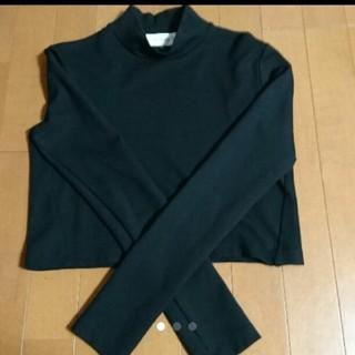 ルシェルブルー(LE CIEL BLEU)のルシェルブルー クロップド丈ハイネックロングTシャツ(Tシャツ(長袖/七分))