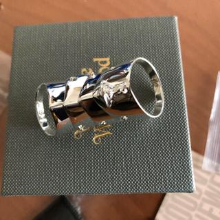 ヴィヴィアンウエストウッド(Vivienne Westwood)のviviennewestwood アーマーリング XL 極美品(リング(指輪))