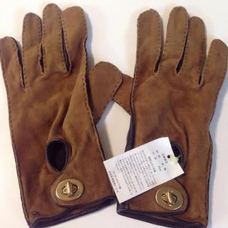 コーチ(COACH)の新品未使用 タグ付き 正規品 COACH レディース 手袋(手袋)