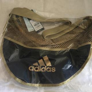 アディダス(adidas)のアディダス ストレッチボールバッグ 1個入 モルテン★シルバー(バスケットボール)