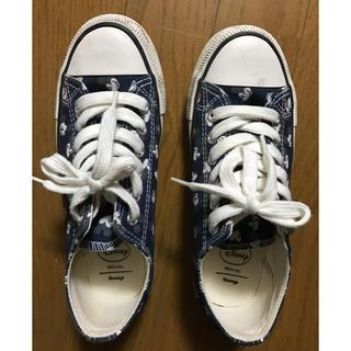 レディース デズニー靴 スニーカー 運動靴 Sサイズ(スニーカー)