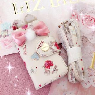 リズリサ(LIZ LISA)の☆リズリサLIZLISA☆りぼん付き☆リス柄iphone6 6sケース☆難あり(iPhoneケース)