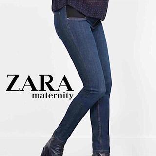 ザラ(ZARA)のレア ZARA maternity skinny jeans(マタニティボトムス)
