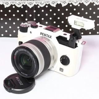 ペンタックス(PENTAX)のりゅのぱぁ様専用❤️Wi-Fiカード付き❤️PENTAX Q10(ミラーレス一眼)