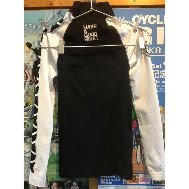 アソス 最強防寒アンダーウォーマー LS.skin Foil_evo7 Mサイズ スポーツ/アウトドアの自転車(ウエア)の商品写真
