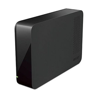 BUFFALO 外付けHDD HD-LC3.0U3-BKF 3TB(その他)