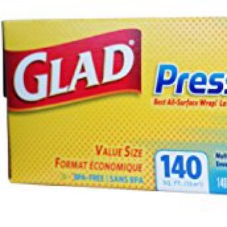 新品 GLAD PRESS'N SEAL(プレスンシール)2本セット(その他)