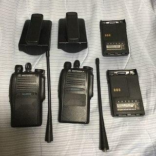 簡易業務用無線GL2000 2台セット(その他)