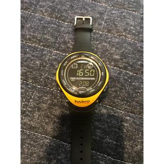 スント(SUUNTO)のSUUNTO VECTOR  イエロー(腕時計(デジタル))