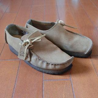 クラークス(Clarks)の【最終値下】クラークス ワラビー UK5(24.0-24.5)レディース(ローファー/革靴)