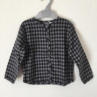 コドモビームス(こども ビームス)のtocoto vintage チェック 長袖 シャツ 新品(シャツ/カットソー)