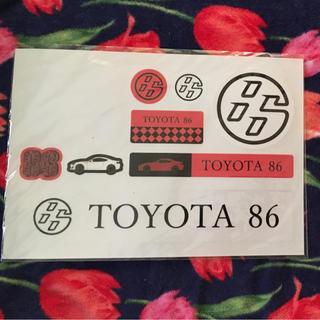 トヨタ(トヨタ)のトヨタ86 zn6 シール(車種別パーツ)
