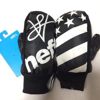 ネフ(Neff)の大人気【新品】neff ミトングローブ スキー スノーボード 防水 耐水 星条旗(アクセサリー)