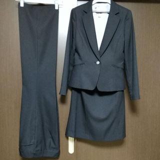 シマムラ(しまむら)の値下げ💴⤵【美品】✨女性スーツ三点セット✨(スーツ)