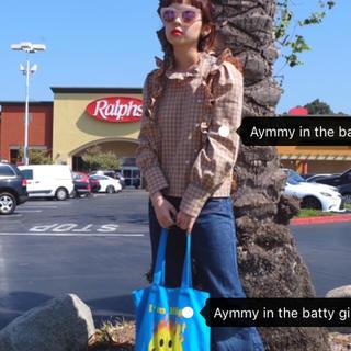 エイミーインザバッティーガール(Aymmy in the batty girls)のチェック柄ブラウス(シャツ/ブラウス(長袖/七分))