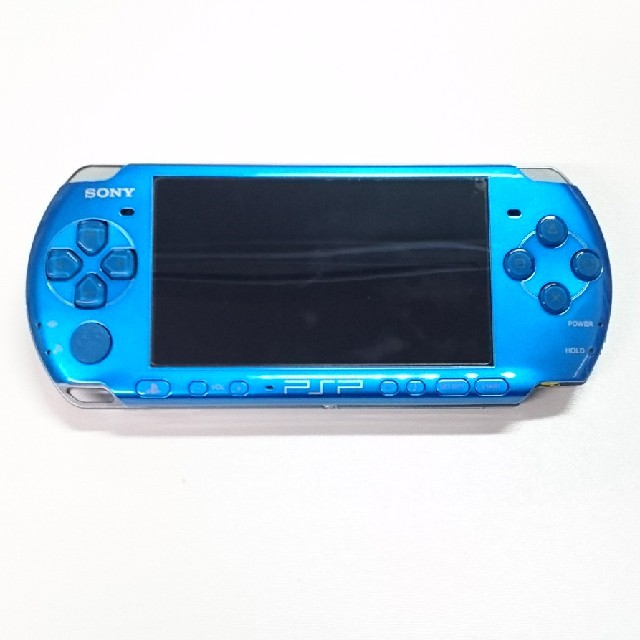 PlayStation Portable(プレイステーションポータブル)の【PSP】プレイステーション・ポータブル 本体  エンタメ/ホビーのテレビゲーム(携帯用ゲーム本体)の商品写真
