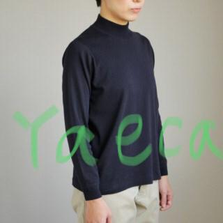 ヤエカ(YAECA)のyaeca 2018ssモックネック(トレーナー/スウェット)