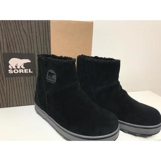 ソレル(SOREL)のソレル グレイシー ブラック 6.5(ブーツ)
