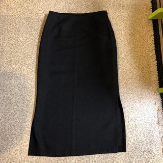 デプレ(DES PRES)のデプレの黒のロングタイトスカート(ロングスカート)