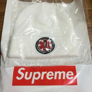 シュプリーム(Supreme)の新品 supreme ヒステリックグラマー ニットキャップ ホワイト(ニット帽/ビーニー)