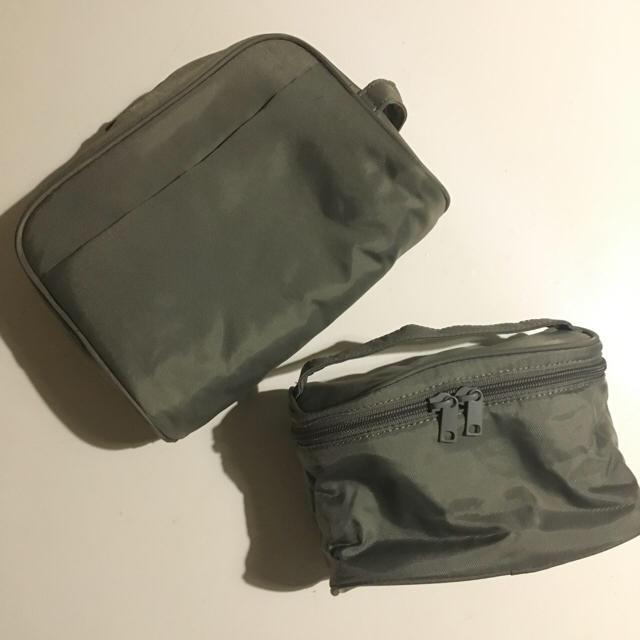 MUJI (無印良品)(ムジルシリョウヒン)の無印 ポーチ 2個セット トラベル 旅行 メンズのバッグ(その他)の商品写真