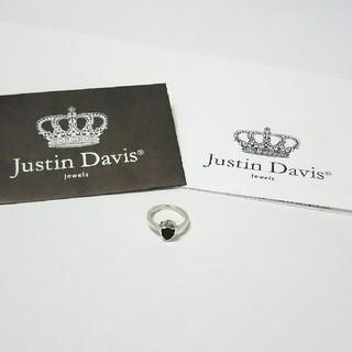 ジャスティンデイビス(Justin Davis)のギャラ付良品★ジャスティンデイビス キッズヘリテイジリング 指輪 925(リング(指輪))