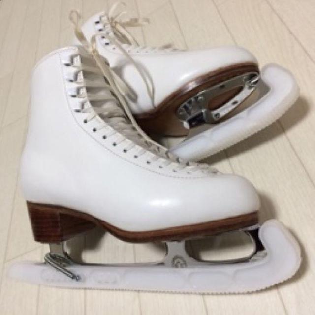 ☆フィギュアスケート靴+ブレー...