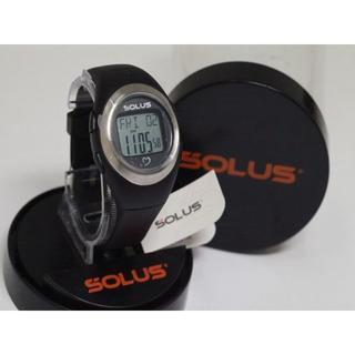 ソーラス(SOLUS)の可動品 未使用【ソーラス】 メンズ腕時計 クオーツ 心拍計測(腕時計(デジタル))
