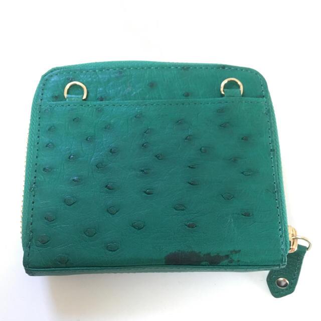 cccfc64604f2 OSTRICH(オーストリッチ)の【Ostrich】0054 レディース 折りたたみ財布 レディースのファッション小物