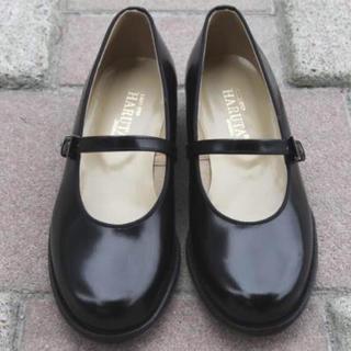 ハコ(haco!)の 《美品》ハルタ 牛革ストラップシューズ すもも様(ローファー/革靴)