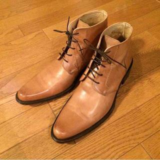 メンズ イタリア製ブーツ(ブーツ)
